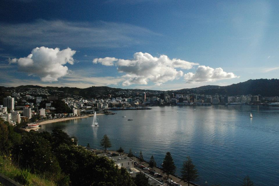 Wellington Harbour. Photo taken by Mr. PD Nairn whose got a real talent for capturing the beauty, magic and love that this place has on offer.